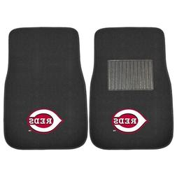 FANMATS 18571 MLB Cincinnati Reds Embroidered Car Mat