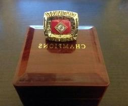 1975 CINCINNATI REDS World Series Championship Ring Pete Ros