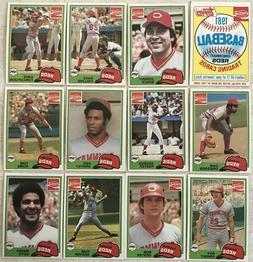 1981 Topps Coca-Cola Cincinnati Reds Team Set  Near Mint-Min