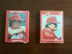 1989 1992 Cincinnati Reds Team Set Kahn's Pete Rose Barry La