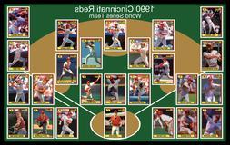 1990 cincinnati reds world series team photo