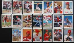 1990 Upper Deck UD Cincinnati Reds Team Set of 20 Baseball C
