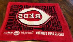 2018 Cincinnati Reds This Is Reds Country Rally Towel! Openi