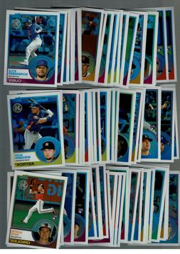 2018 TOPPS SERIES 2 SILVER PACK 1983 CHROME PROMO : COMPLETE