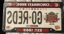 2019 Cincinnati Reds License Plate Frame Fathers Day SGA! 15
