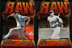 2019 panini leather and lumber w a