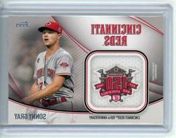 2020 Topps Jumbo Special Event Jersey Sleeve Patches Sonny G