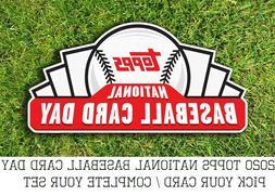 2020 topps national baseball card day nbcd