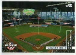2020 topps opening day insert team stadium