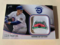 2020 Topps Series 2 ANTHONY RIZZO Jumbo Jersey Sleeve Patch