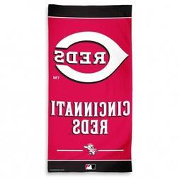 "Beach Towels 30"" x 60"" Fiber Reactive - Baseball MLB Cincinn"