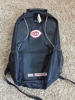 BRAND NEW CINCINNATI REDS BACKPACK GENUINE MERCHANDISE 3 ZIP