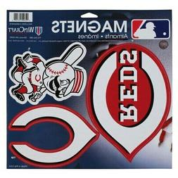 "WinCraft Cincinnati Reds 11"" X 11"" 3-pack Car Magnets"