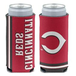 CINCINNATI REDS 12oz. SLIM CAN COOLER CAN HOLDER NEW WINCRAF