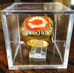 Cincinnati Reds 1990 World Series Championship Ring & w/ Dis