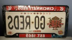 Cincinnati Reds 2019 License Plate Frame & Magnet Schedule S