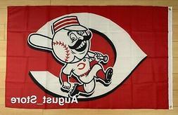 Cincinnati Reds 3x5 ft Flag Banner MLB