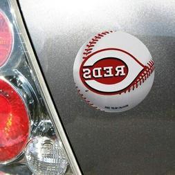 """Cincinnati Reds WinCraft 5"""" Die-Cut Car Magnet"""