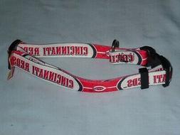 cincinnati reds adjustable dog pet collar size