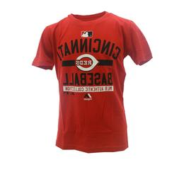 Cincinnati Reds Authentic MLB Majestic Apparel Kids Youth Si
