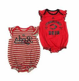 Cincinnati Reds Baby Girls Team Sparkle Clothing 2 Piece Cre