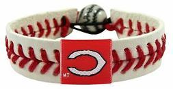 cincinnati reds baseball bracelet classic style