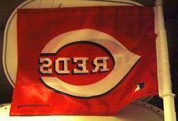 Cincinnati REDS Baseball Genuine MLB Car Auto FLAG NEW Red D
