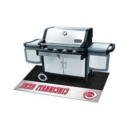 Cincinnati Reds BBQ Grill Mat