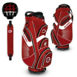 CINCINNATI REDS BUCKET II COOLER CART GOLF BAG NEW FREE SHIP