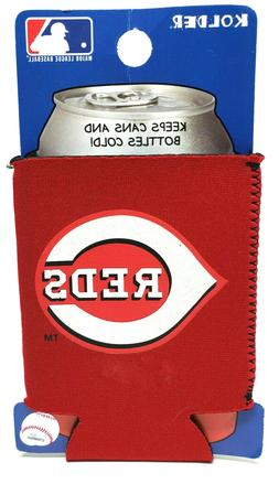 Cincinnati Reds Can Cooler Collapsible Bottle Holder MLB Bas