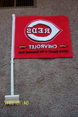 Cincinnati Reds Car Flag