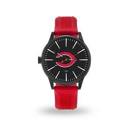 Cincinnati Reds Cheer Design Watch Team Color Logo Baseball