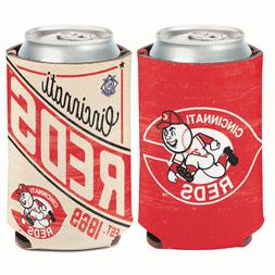 Cincinnati Reds Cooperstown Can Cooler 12 oz. Koozie
