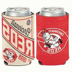 CINCINNATI REDS COOPERSTOWN COLLECTION NEOPRENE CAN COOZIE K