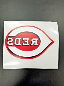 Cincinnati Reds Cornhole Board Decal MLB Logo Car Vehicle St