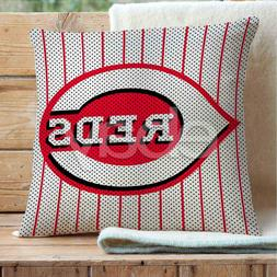 Cincinnati Reds Custom Pillows Car Sofa Bed Home Decor Cushi