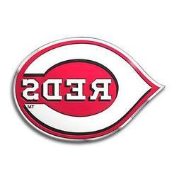 Cincinnati Reds Die Cut Metal Auto Emblem  MLB Car Truck Dec