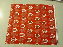 Cincinnati Reds Fabric MLB 252788