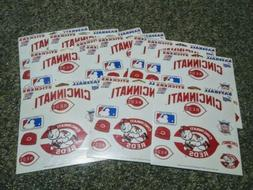 Cincinnati Reds Fun Stickers 14 Sleeves Sealed