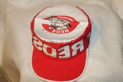 Cincinnati Reds Hat MLB Painters Cap Vintage New Old Stock F