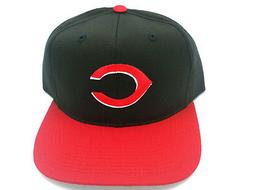 Cincinnati Reds Hat Vintage Snapback Flat Bill Adult Cotton