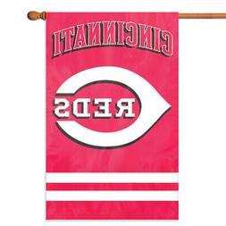 Cincinnati Reds House Banner Flag PREMIUM Outdoor DOUBLE SID