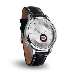 Cincinnati Reds Icon Men's Watch  Jewelry Leather Stainless