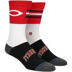 Cincinnati Reds Stance Infiknit Color Crew Socks