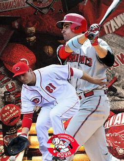 Cincinnati Reds Lithograph print of  Joey Votto