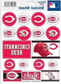 Cincinnati Reds ~ Lot of  Stickers ~ 5x7 Inch Sheet
