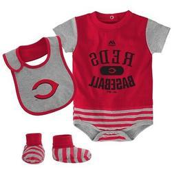Cincinnati Reds Majestic Newborn Red Baseball Property Creep