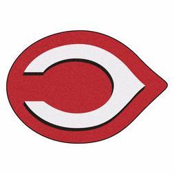 Cincinnati Reds Mascot Area Rug Floor Mat