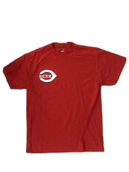 Cincinnati Reds Men's Baseabll T-Shirt - Majestic - Size Lar