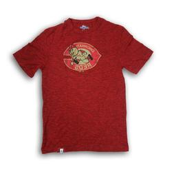 Cincinnati Reds Men's Red Short Sleeve T-shirt New Without T
